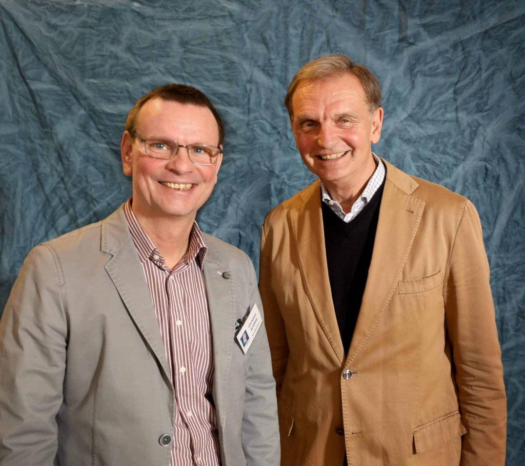 Christian Schmid und Lukas Bonelli von Radio Maria Österreich