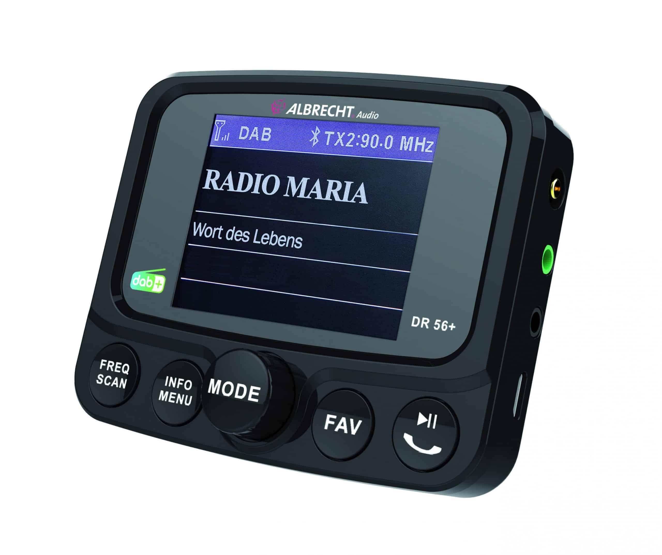DAB+ Auto Adapter Radio Maria Österreich