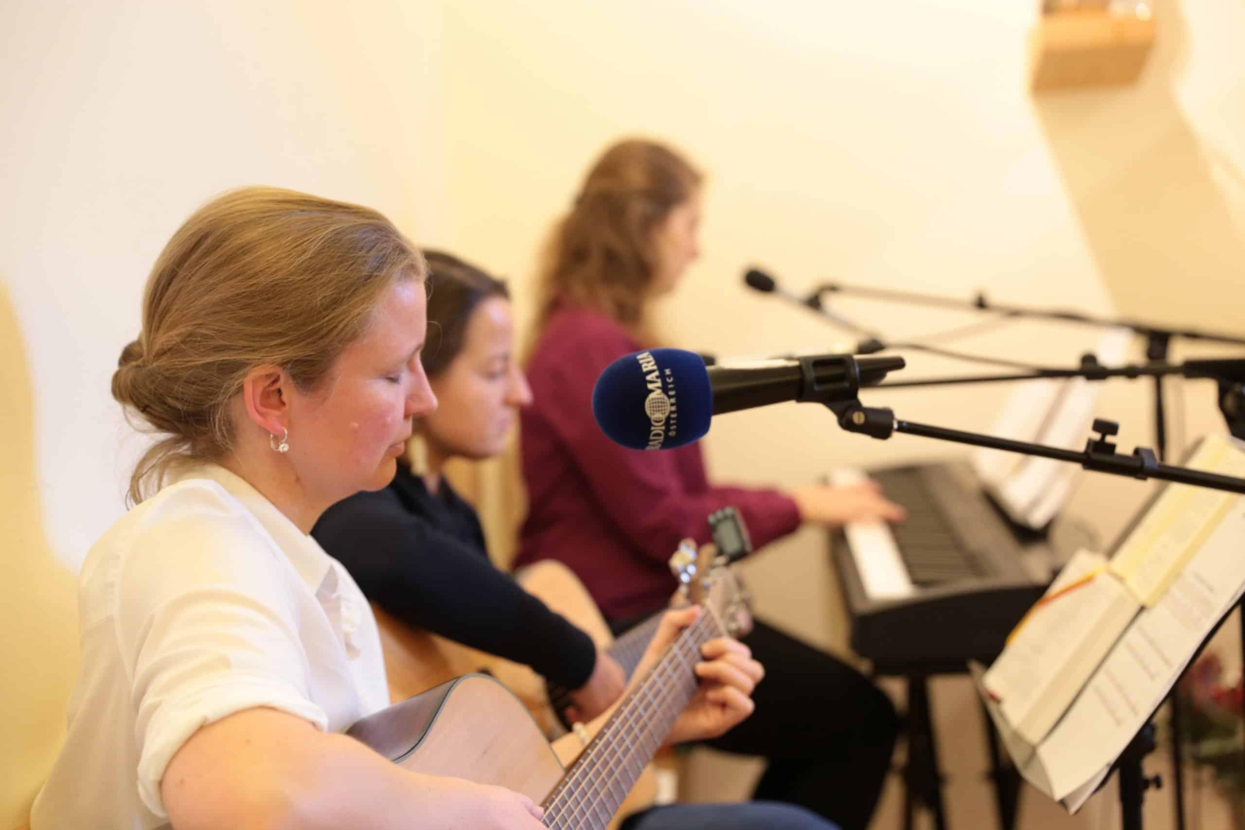 musikalische Unterstützung der Hl. Messe