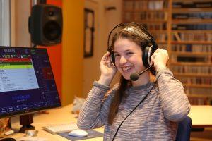 Maria Pichler im Studio
