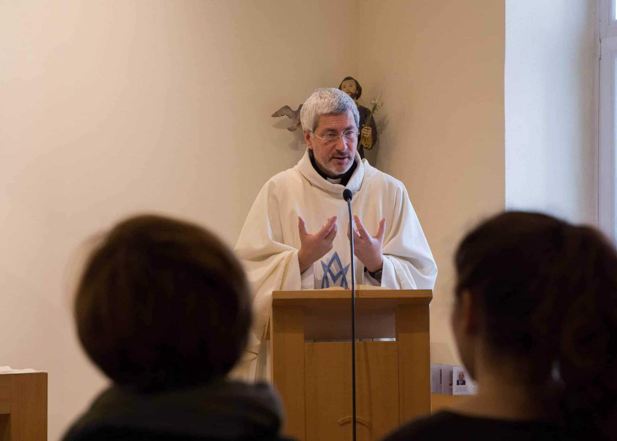 Hl. Messe beim Mariathon